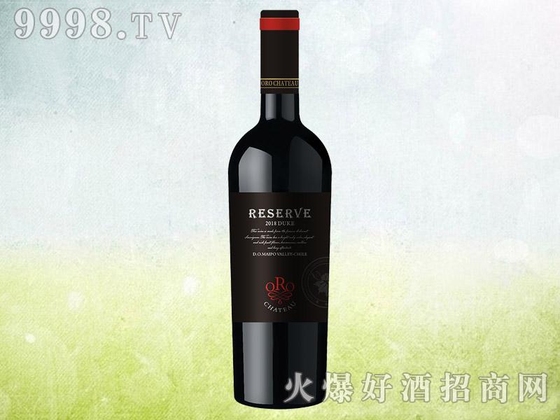 欧洛酒庄公爵干红葡萄酒