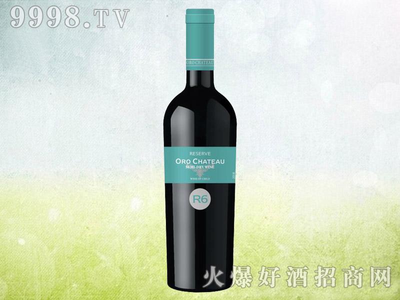 欧洛酒庄珍藏级半干葡萄酒