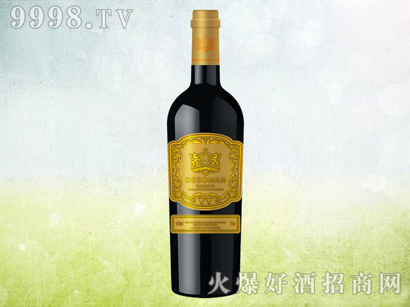 德索曼候爵干红葡萄酒