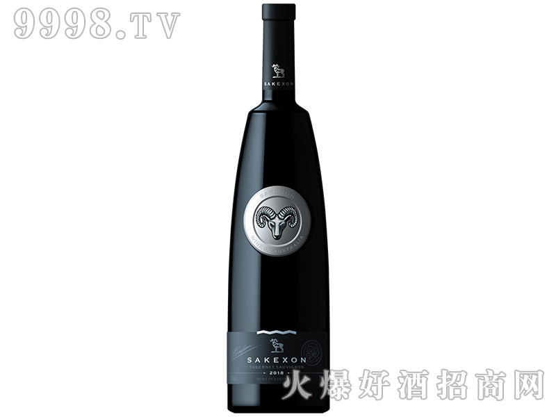 撒克逊银羊头干红葡萄酒