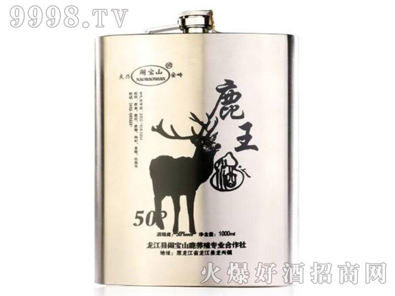 闹宝山鹿王酒50°1000ml