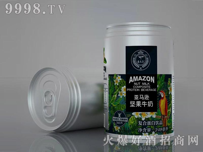亚马逊饮品坚果牛奶248ml