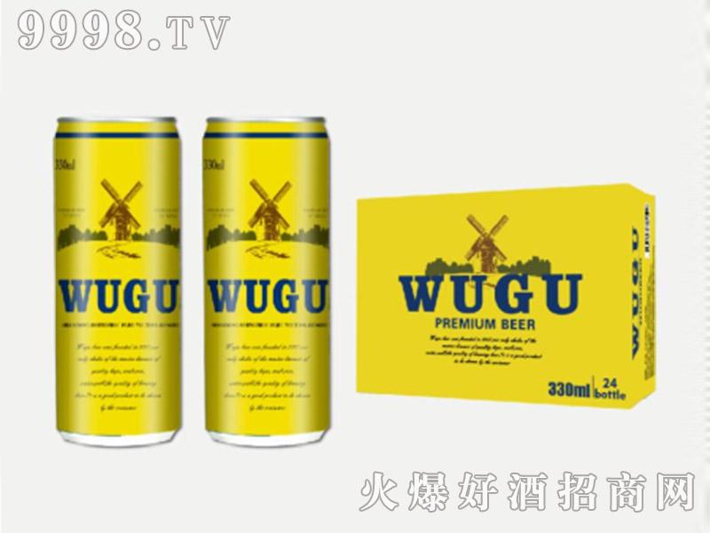 五谷精酿啤酒细罐330ml