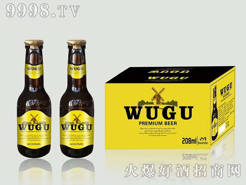 五谷精酿啤酒侧拉环208ml