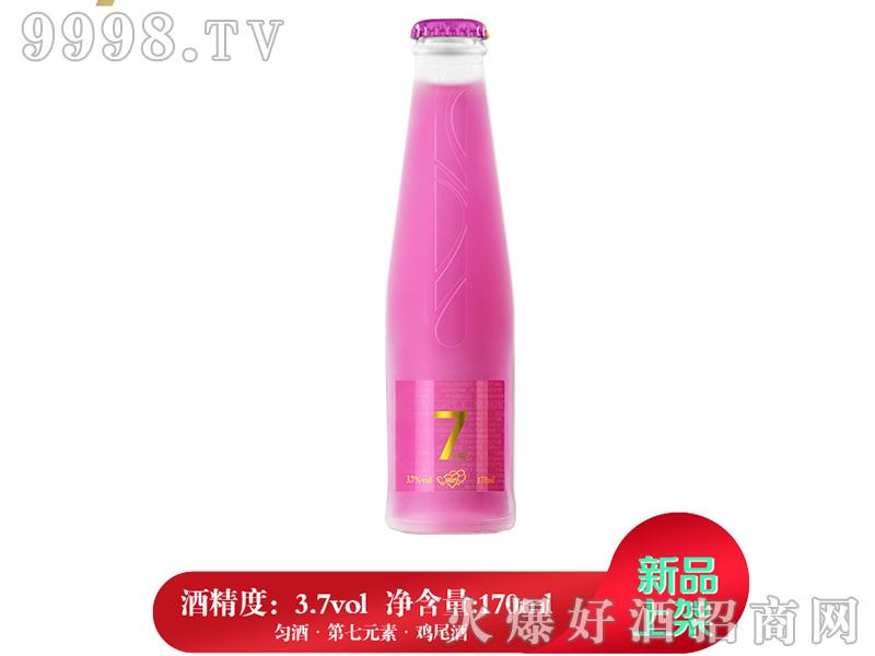 匀酒第7元素迷你鸡尾酒(紫莓味)3.7°170ml