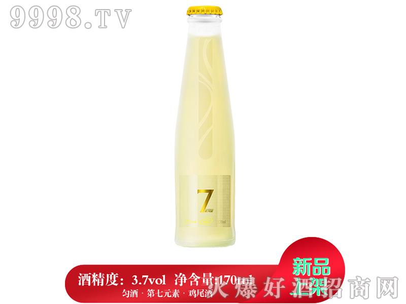 匀酒第7元素迷你鸡尾酒(柠檬味)3.7°170ml