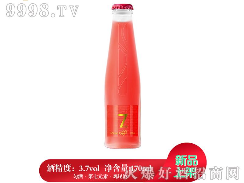 匀酒第7元素迷你鸡尾酒(草莓味)3.7°170ml