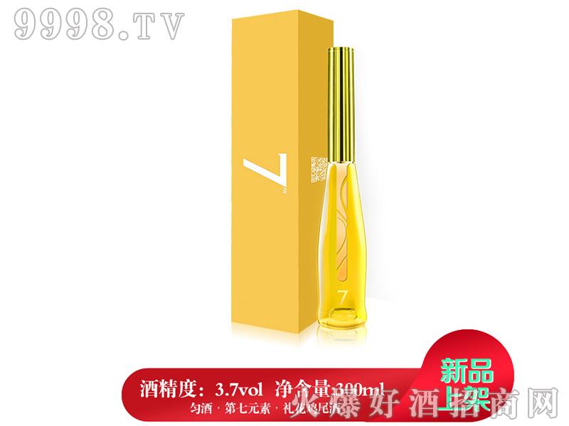匀酒第7元素礼花鸡尾酒(柠檬味)3.7°300ml