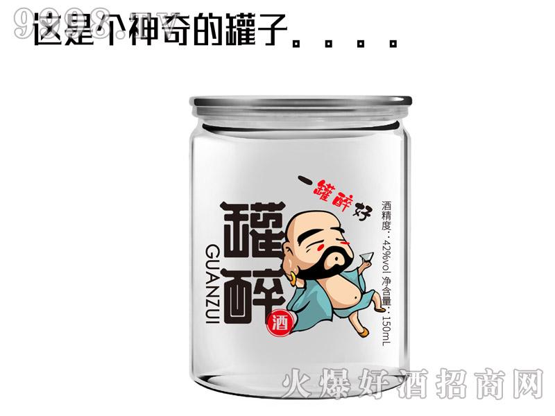 罐醉酒42°150ml浓香型白酒