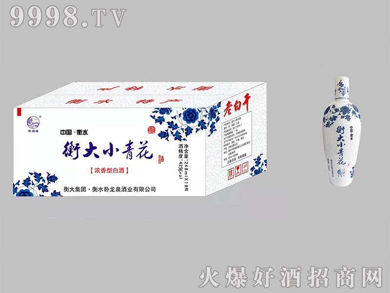 衡大小青花42度248ml浓香型白酒