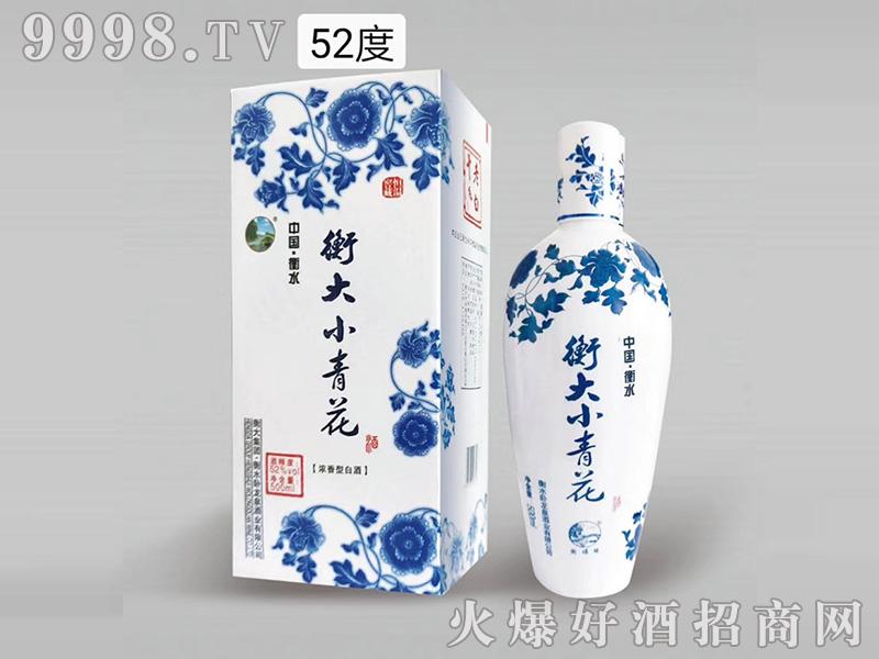 衡大小青花52度500ml浓香型白酒