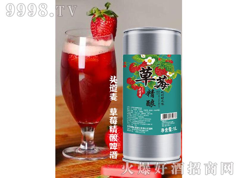 头道麦草莓精酿乐虎体育直播app11度1L
