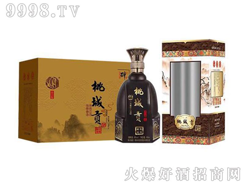 桃城贡酒出口型42度500ml浓香型白酒