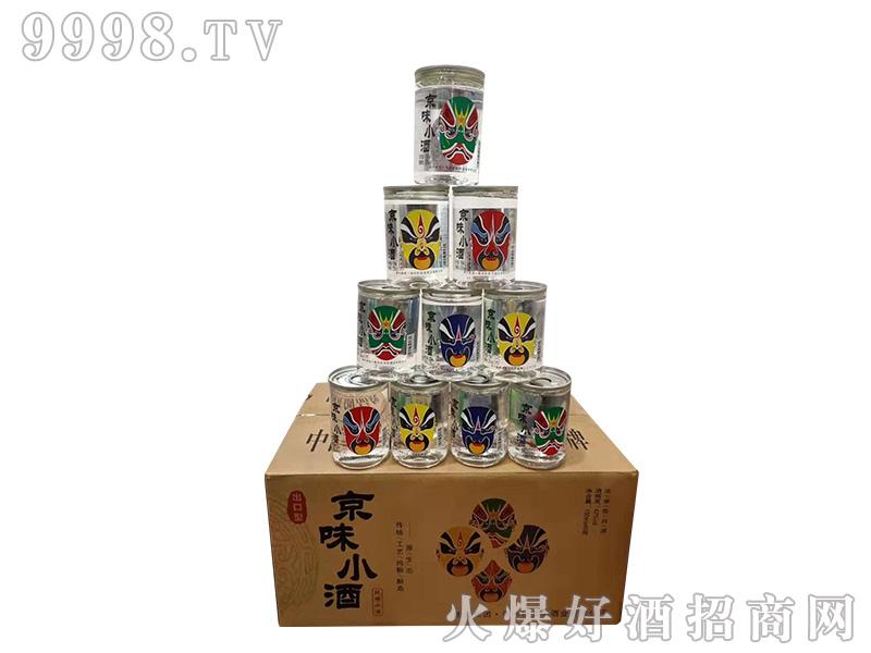 京味小酒42度150ml浓香型白酒