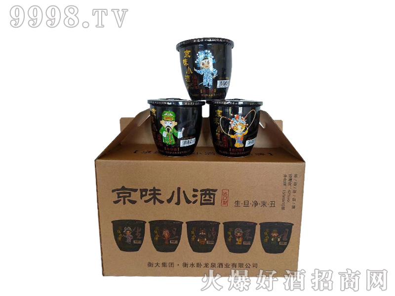京味小酒出口型42度150ml浓香型白酒
