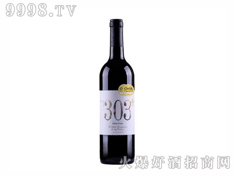 米隆庄园303干红葡萄酒14度750ml