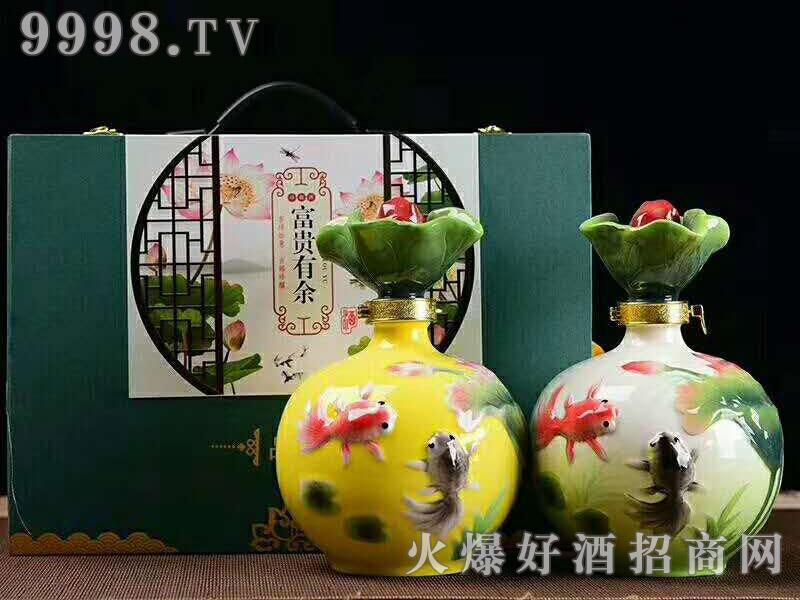 陶藏年富贵有余42°52°2.5L浓香型白酒