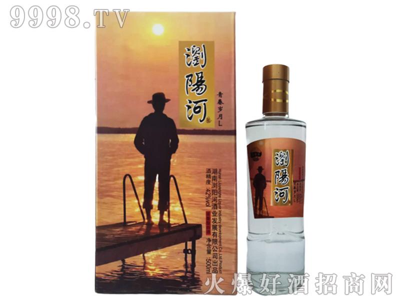 浏阳河酒青春岁月L42°500ml浓香型白酒