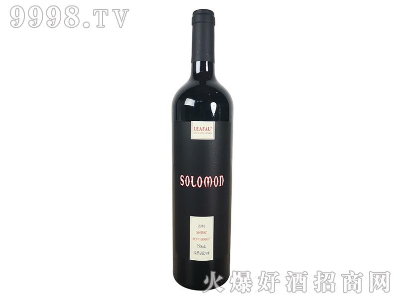 所罗门干红葡萄酒14.5°750ml-红酒类信息