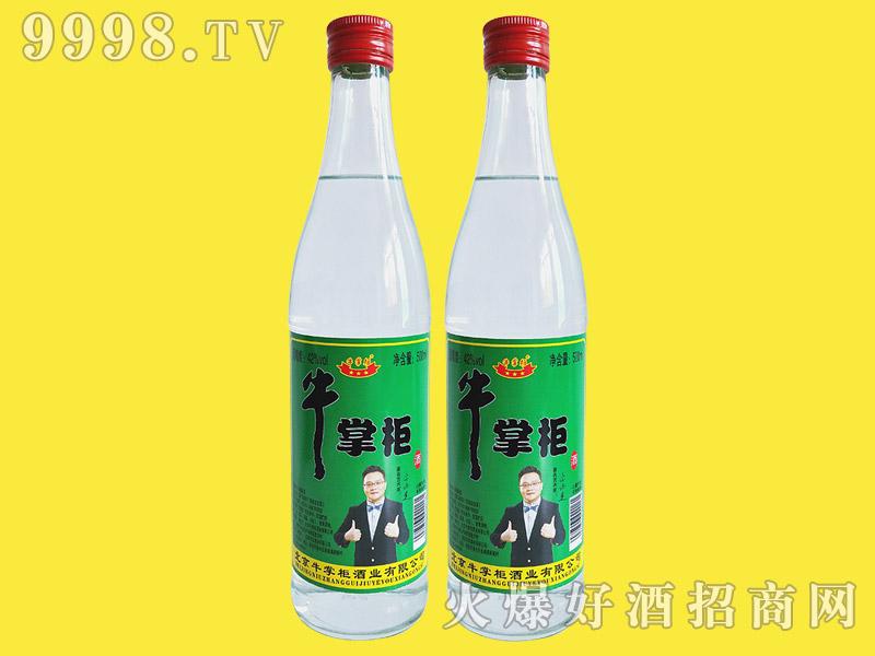 牛掌柜酒42度500ml浓香型白酒