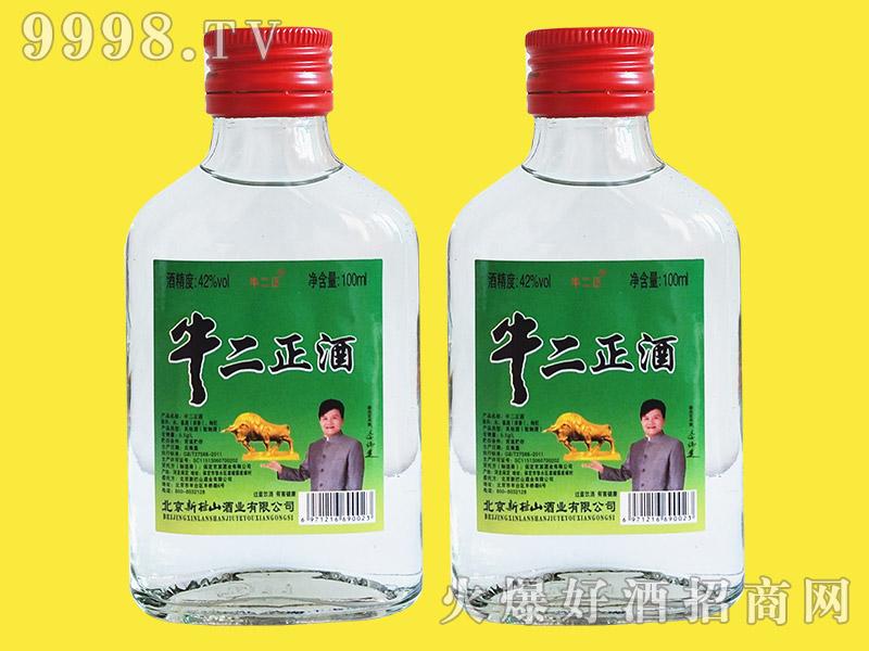 牛二正酒42°100ml浓香型白酒