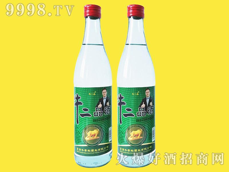 牛二品酒42°500ml浓香型白酒