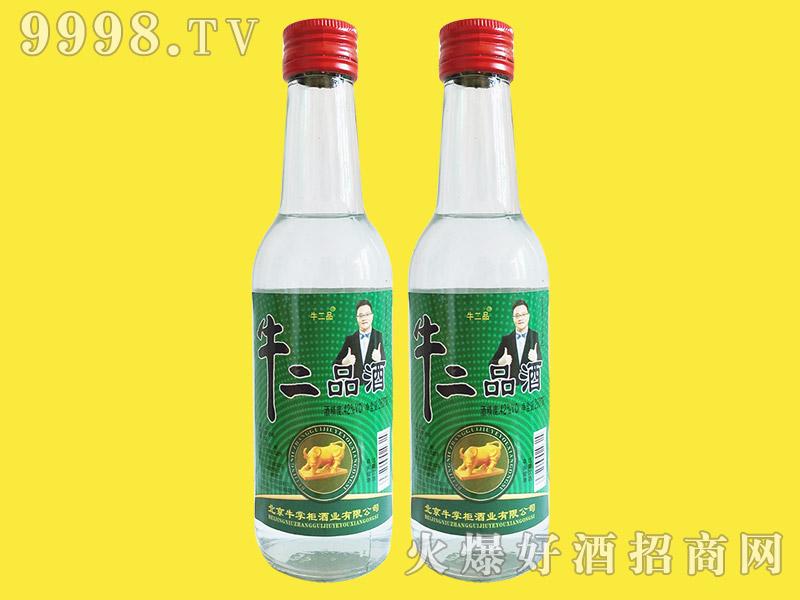 牛二品酒42°260ml浓香型白酒