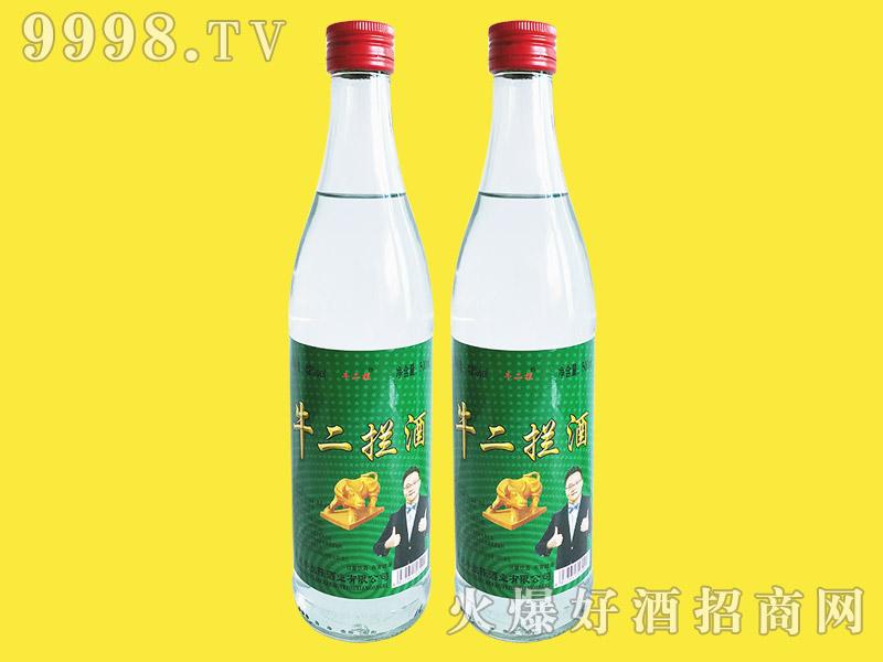 牛二拦酒42°500ml浓香型白酒