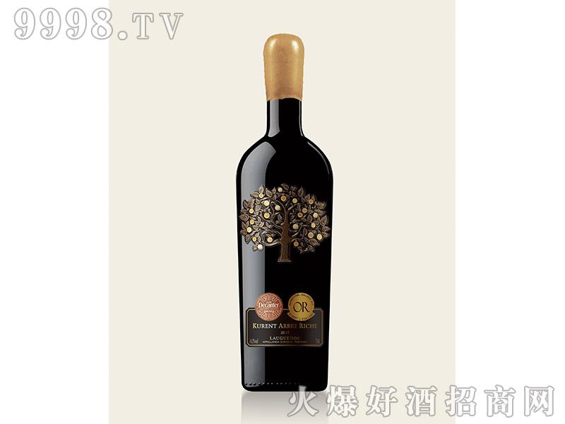 卡伦图·发财树干红葡萄酒14.5度750ml