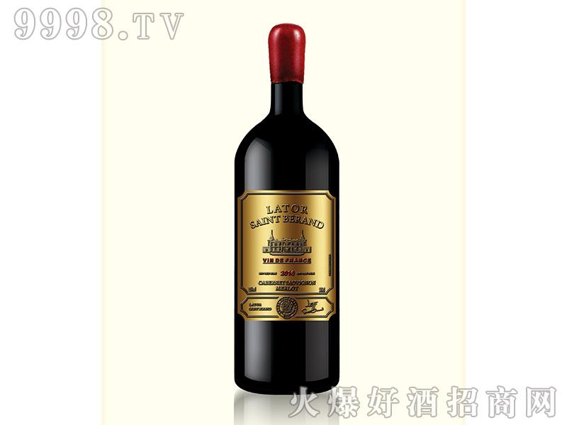 拉图圣莫伯特·科尔德干红葡萄酒15度500ml