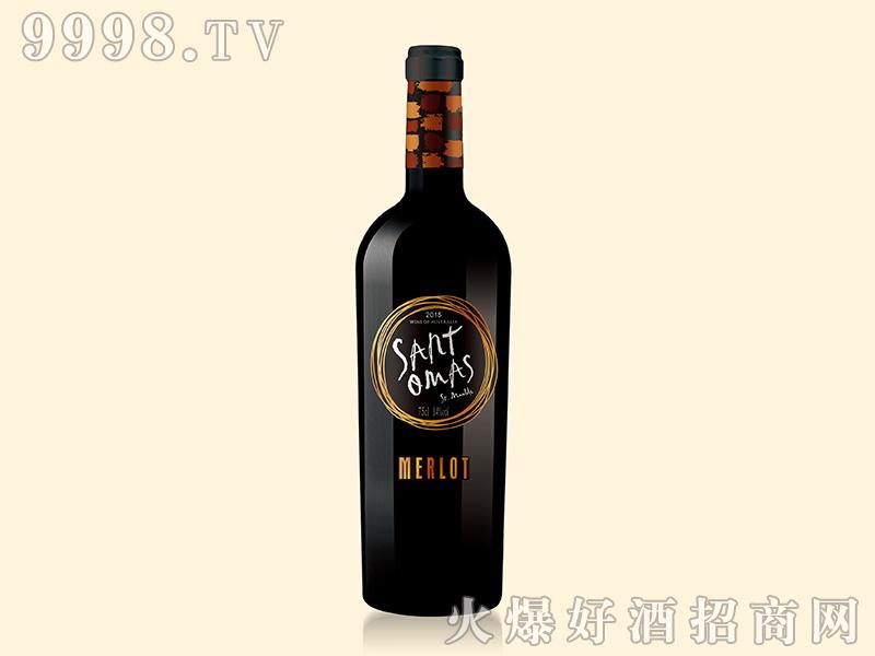圣托莫森·圣莫尔德干红葡萄酒14度750ml