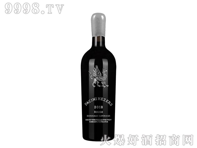 帕齐尼·赫哲斯干红葡萄酒