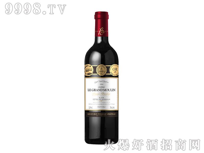 大风车城堡3奖干红葡萄酒13.5度750ml