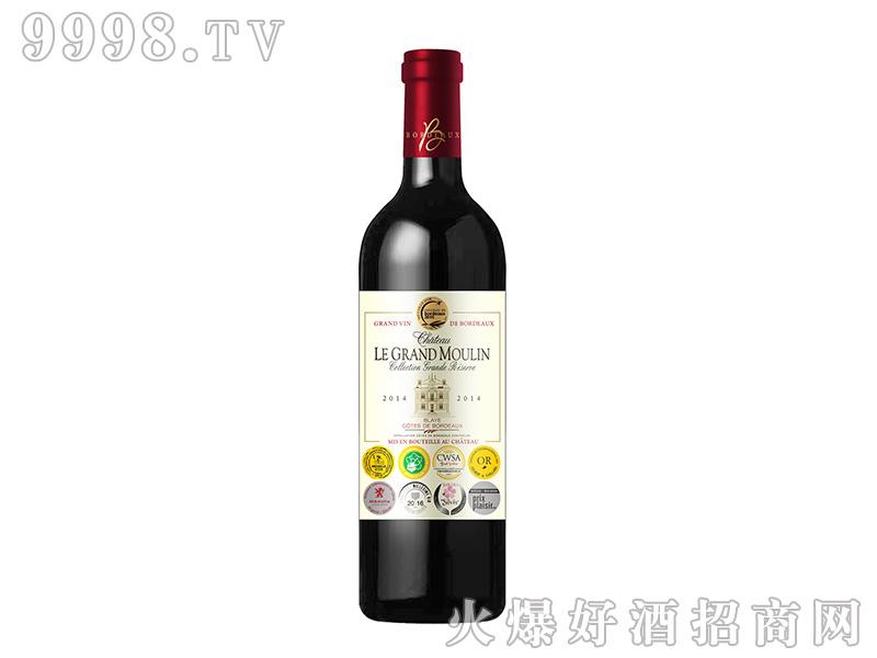 大风车城堡9奖干红葡萄酒