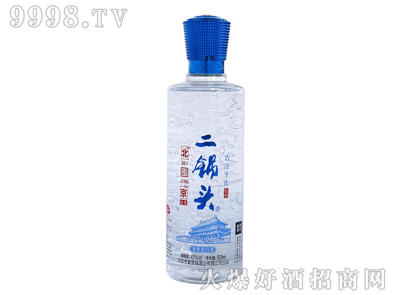 紫禁城北京二锅头【蓝】清香型白酒【42°500ml】