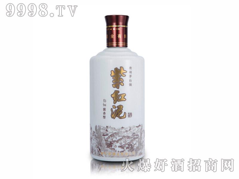 白色紫红泥酒53度酱香型