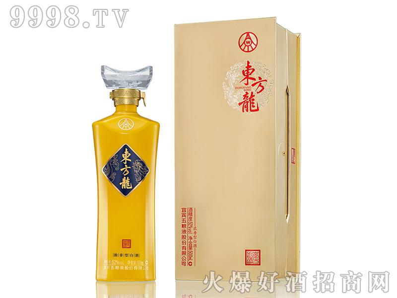 五粮液东方龙·金龙浓香型白酒【52°500ml】