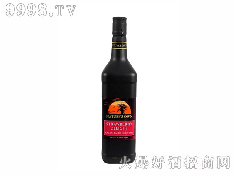 天然派草莓奶油利口酒【17度750ml】