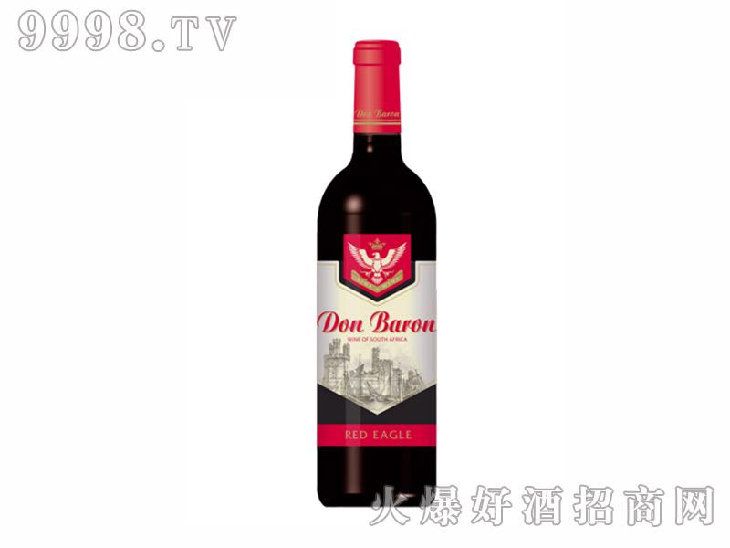 唐巴伦红鹰经典红葡萄酒【13度750ml】
