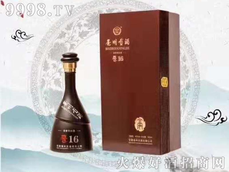 亳州贡酒16浓香型白酒【42度52度500ml】