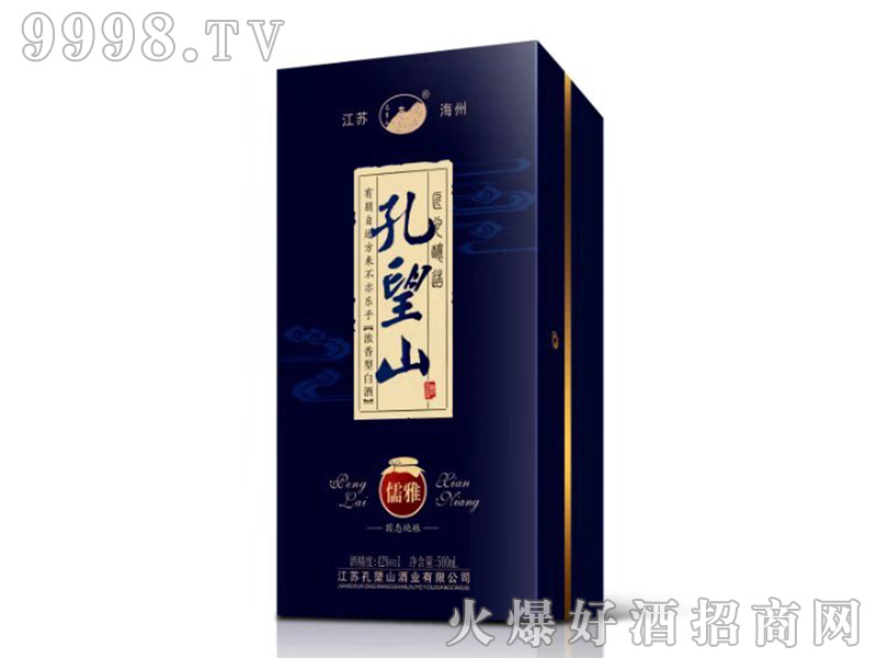 孔望山酒儒雅浓香型白酒【42°500ml】