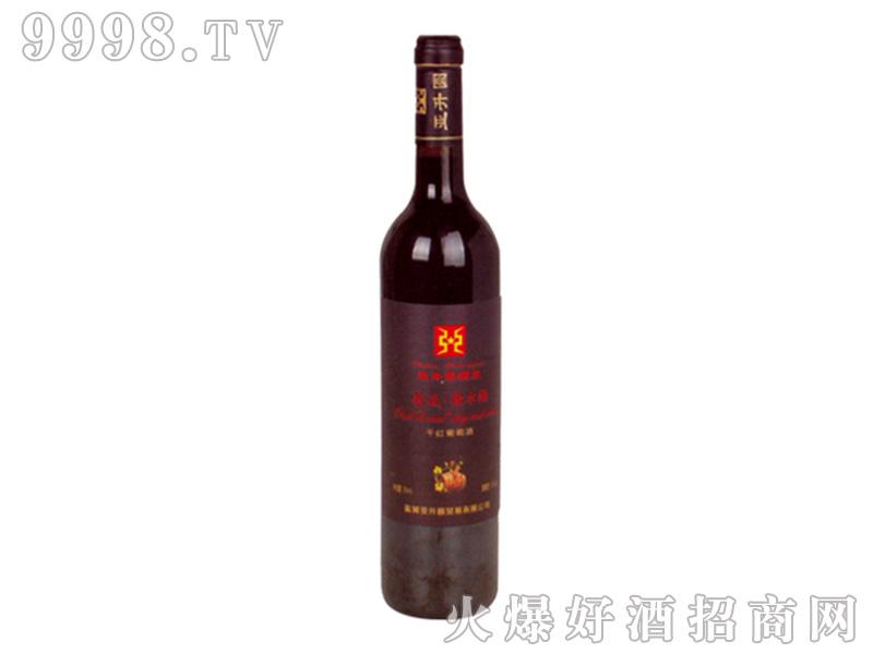 亚升圆干红葡萄酒珍藏橡木桶