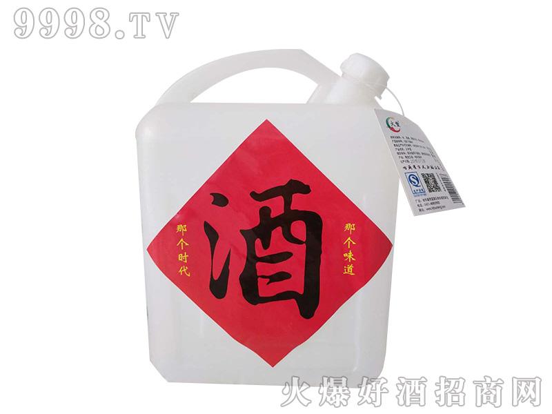 火丰纯粮酒50度5L浓香型白酒