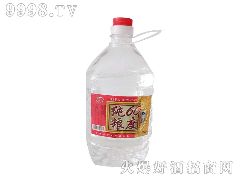 火丰纯粮酒60度2L浓香型白酒