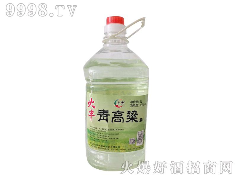火丰青高粱酒38度5L浓香型白酒