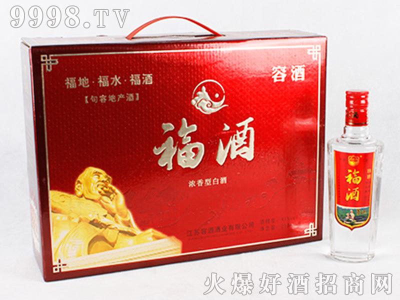 容酒福酒41°500ml浓香型白酒