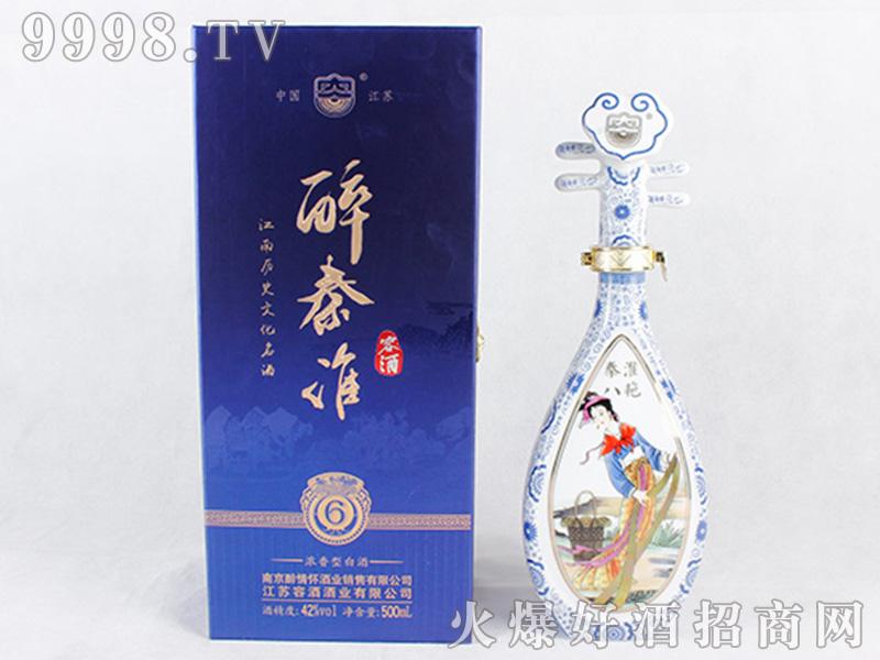 容酒醉秦淮42°500ml浓香型白酒