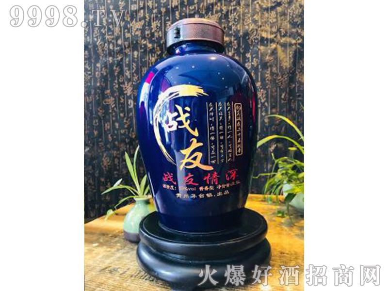 战友酒53度2.5L酱香型白酒