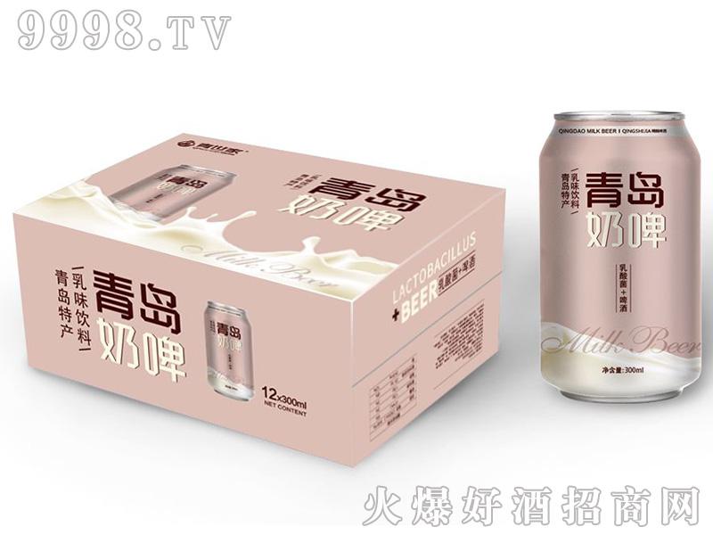 青世家青岛奶啤330mlX12罐