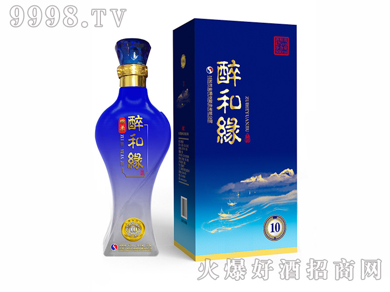 醉和缘10浓香型【42度500ml】-白酒招商信息